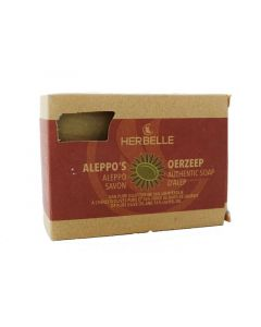 Herbelle Aleppo zeep olijf + 16% laurier 180g