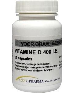 Added Pharma Vitamine d 400ie los 90 capsules