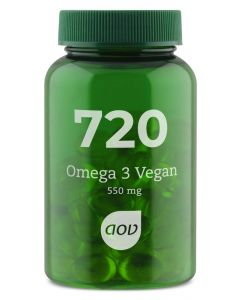 AOV 720 Vegetarische omega 3 60ca