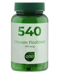 AOV 540 Chroom picolinaat 60vc