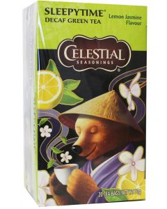 Sleepytime decaf green tea lemon jasmine
