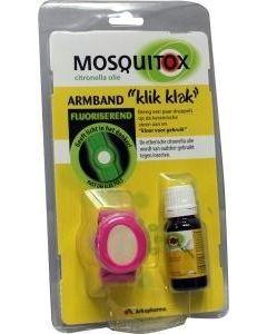 Arko Mosquitox armbandje met Citronelle-olie