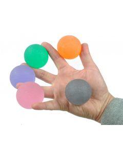 Handtrainer gelbal extra soft roze