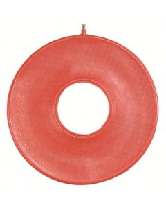 Ringkussen opblaasbaar rubber 46 cm