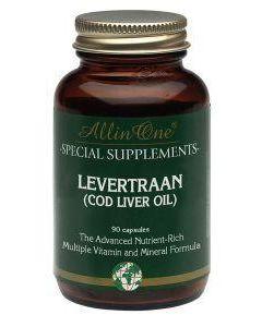 Levertraan cod liver
