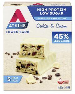 Atkins Cookies & cream reep 30 gram 5x30g