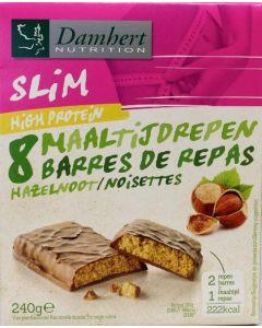Afslank proteinereep chocolade noot
