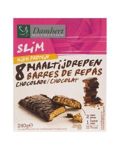 Damhert Slim maaltijdrepen chocolade 240g