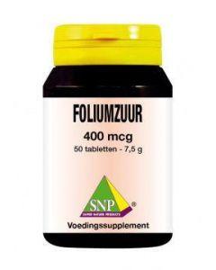SNP Foliumzuur 400 mcg 50 tabletten