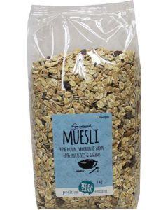 Terrasana Muesli noten & zuidvruchten 1000 gram
