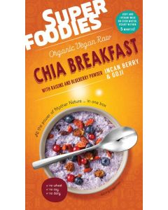 Chia breakfast goji & inca berries