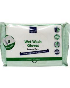 Wet wash washandjes verzorgend
