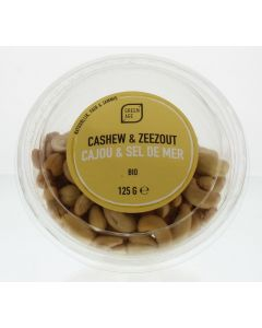 Greenage Cashewnoten met zeezout 125 gram