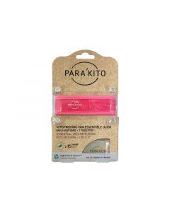 Parakito Armband fuchsia met 2 tabletten 1st
