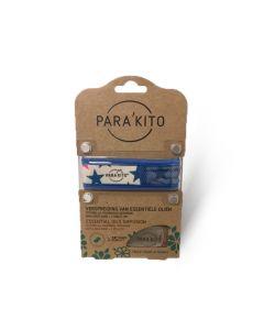 Parakito Armband design blauw met 2 tabletten 1 stuks