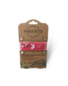Armband design roze met 2 tabletten