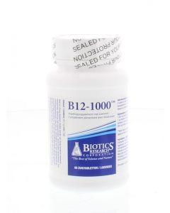Biotics Vitamine B12 1000 mcg 60 tabletten