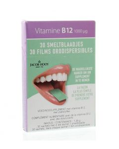 Vitamine B12 1000 mcg smeltblaadjes