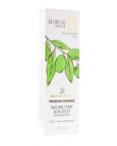 Botanical continuous spray SPF15