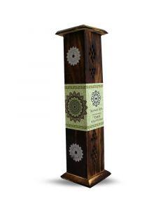 Green Tree Wierookbrander tower mandala 1st