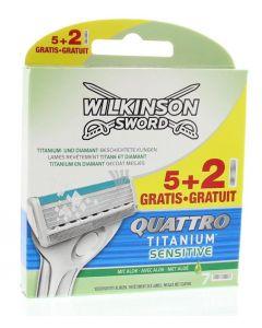 Quattro titanium sensitive mesjes 5+2