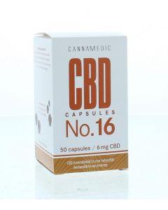 Cannamedic CBD Capsules nr 16 6 mg 50ca