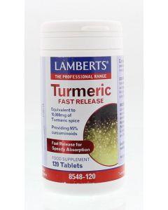 Lamberts Curcuma fast release 120tb