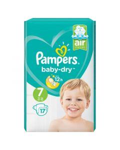 Baby dry maat 7