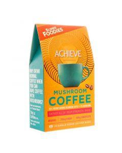 Superfoodies Mushroom coffee achieve 10 gram zakjes 10st
