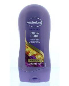 Conditioner oil & curl