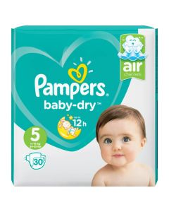 Pampers Baby dry maat 5 30st