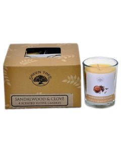 Geurkaars sandelwood clove votives