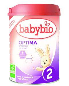 Babybio Optima 2 opvolgmelk 0-6 maanden 900g