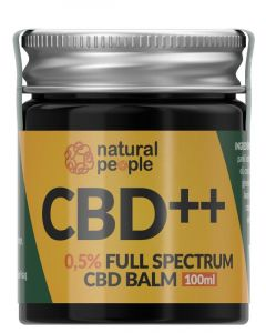 Natural People CBD Balm 0.5% 100ml