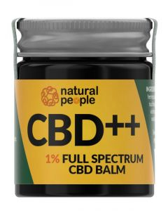 Natural People CBD Balm 1% 30ml