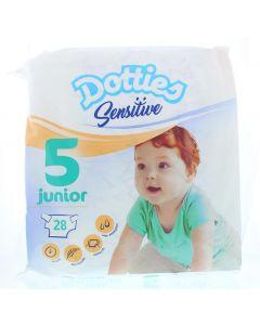Sensitive baby luiers junior 5
