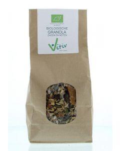 Vitiv Granola zaden en noten bio 500g