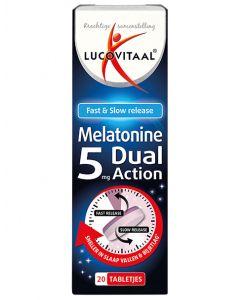 Lucovitaal Melatonine 5 mg dual action 20tb