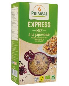 Primeal Rijst express gekookt Japans 220g