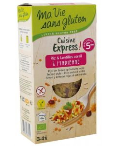 Ma Vie Sans Rijst express gekookt linzen India 220g