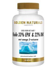 Golden Naturals Visolie 33% EPA 22% DHA 60sg