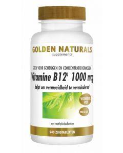 Golden Naturals Vitamine B12 1000 mcg vega 240zt