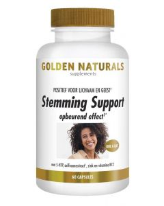 Golden Naturals Stemming support 60vc