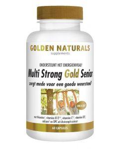Golden Naturals Multi strong gold senior 60ca