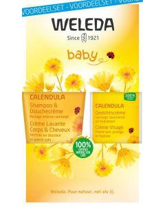 Weleda Calendula baby gezichtscreme voordeelset 1set