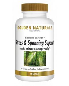 Golden Naturals Stress & spanning support 60vc