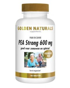 Golden Naturals PEA Strong 600 mg 180tb