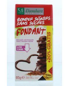 Damhert Chocoladetablet puur 85g