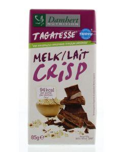 Chocoladetablet melk/crisp
