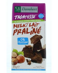 Damhert Chocoladetablet praline 85g